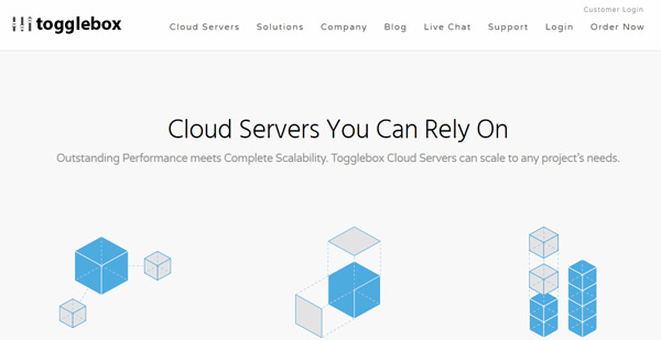 Togglebox cheap cloud hosting 2018